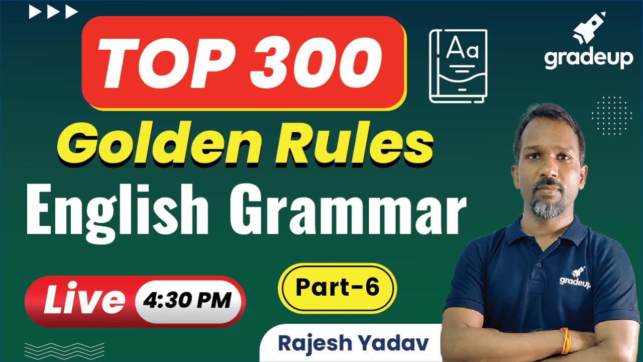 English Grammar Rules Part-06