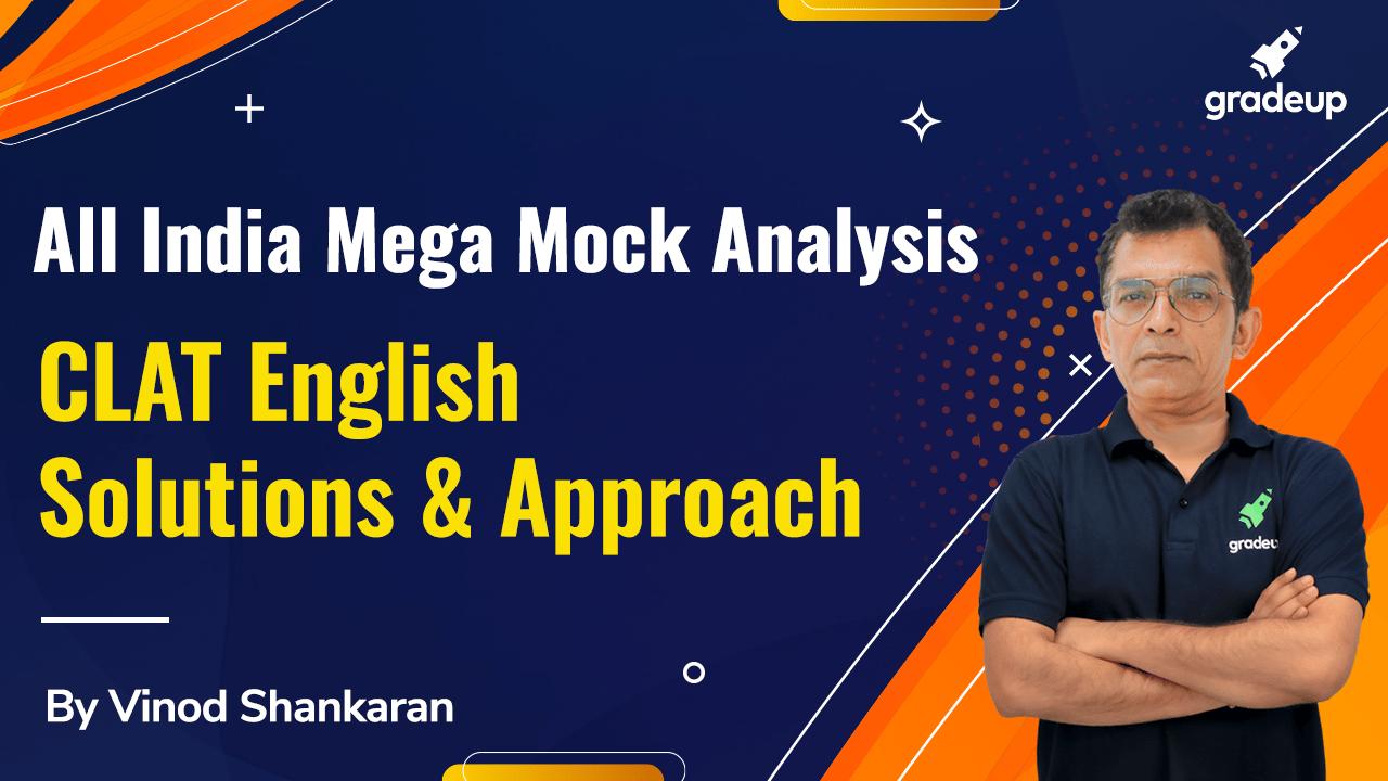 CLAT English 2021 | Mega Mock Analysis