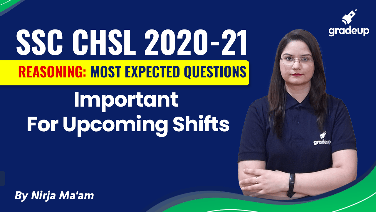 Reasoning Imp Ques for Upcoming Shifts   SSC CHSL 2020-21