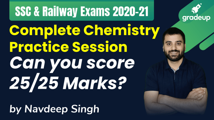 Chemistry Practice Session: Can You Score 25/25?