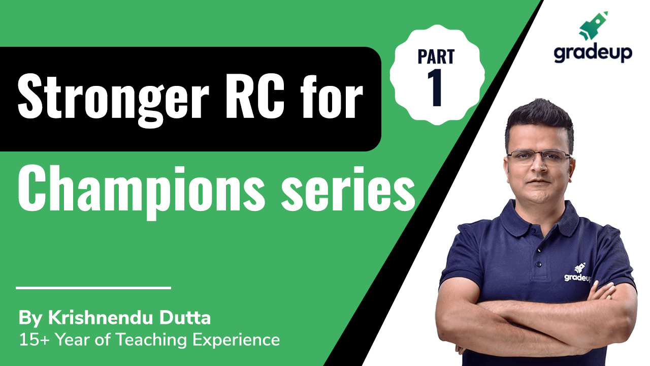 Stronger RC for Champions series Part 1
