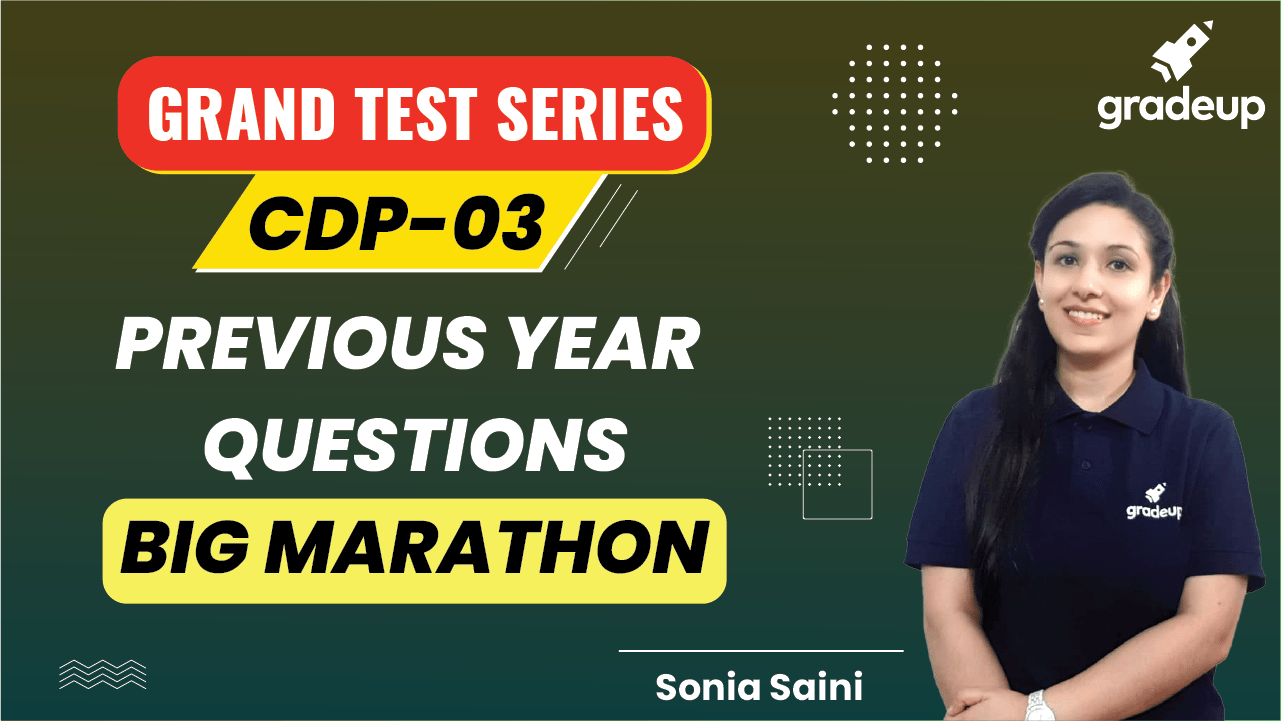 GRAND Test Series of CDP - 03