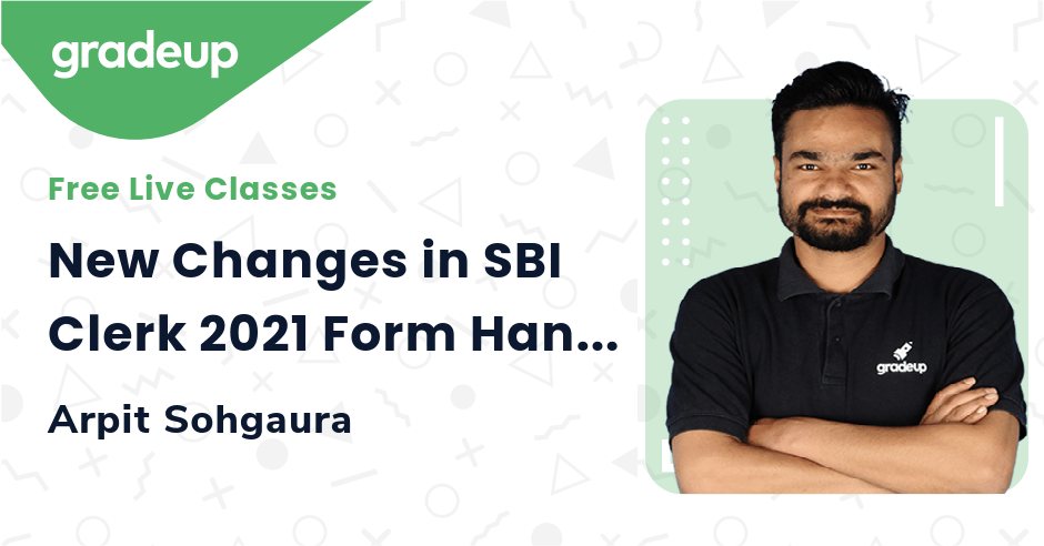 New Changes in SBI Clerk 2021 Form Hand Written Declaration & Thumb Impression | Arpit Sohgaura