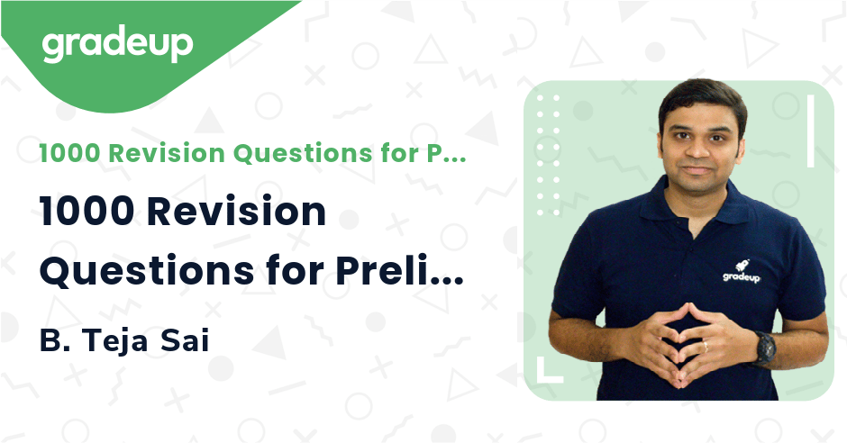 1000 Revision Questions for Prelims 2021 | Part 5