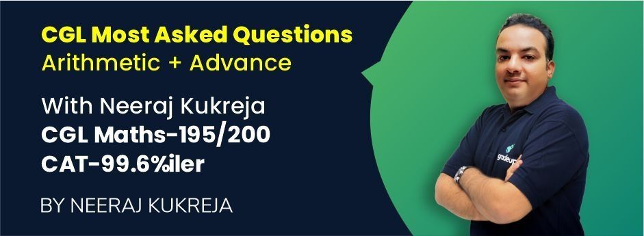 CGL Most Asked Questions (Arithmetic + Advance)