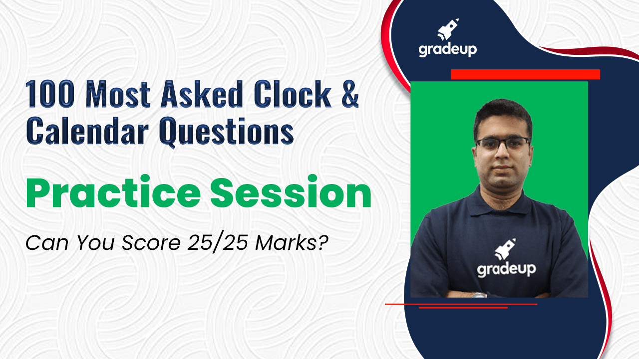 Clock & Calendar | Practice Session |Can You Score 25/25 Marks?