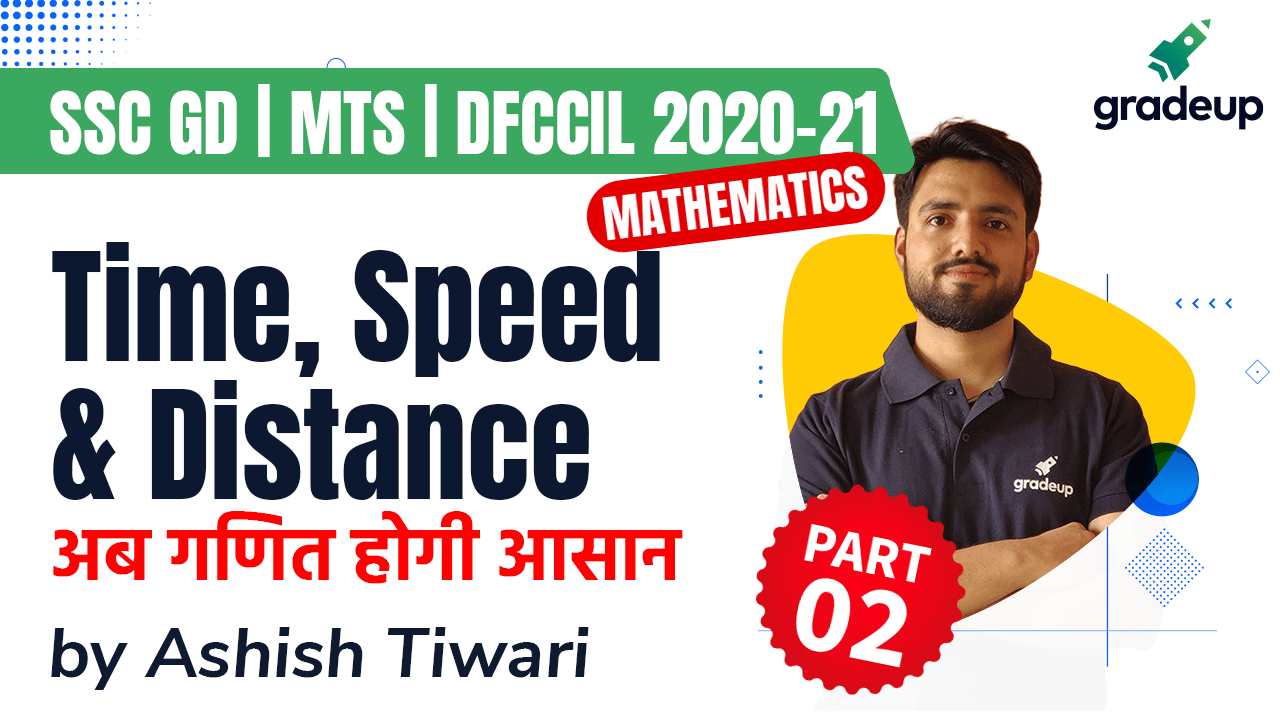 TIME SPEED & DISTANCE Part 2 अब सवाल होंगे Seconds में | SSC GD, MTS, DFFCIL