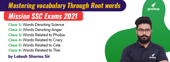Mastering vocabulary Using Root words