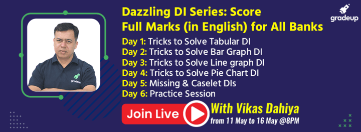 Dazzling DI Series: Score Full Marks (in English) for All Banks