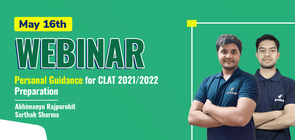 Get Personal Guidance for CLAT 2021/2022 Preparation