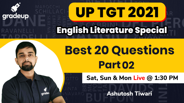 Best 20 Questions of Literature 02