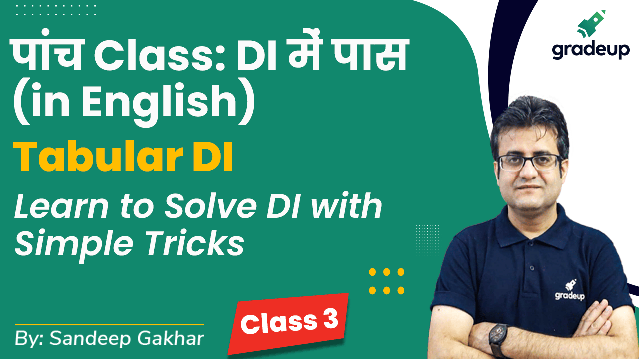 Class 3: Tabular DI   Learn to Solve DI with Simple Tricks