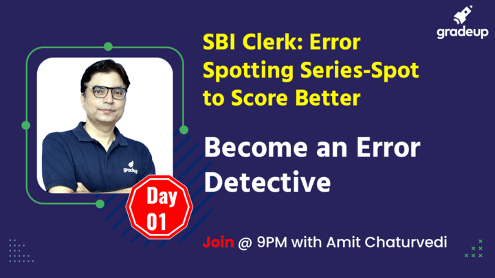 Live Class: Become an Error Detective