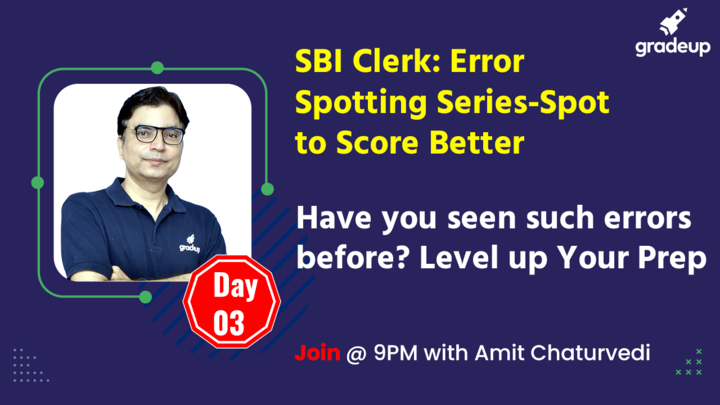 Live Class: Have you seen such errors before? Level up Your Prep