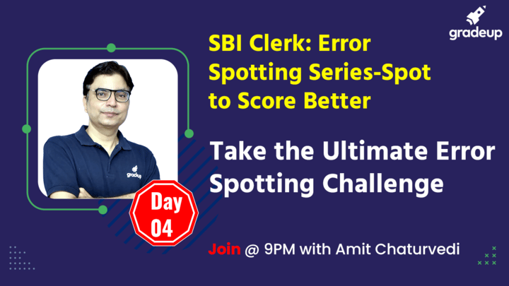 Live Class: Take the Ultimate Error Spotting Challenge