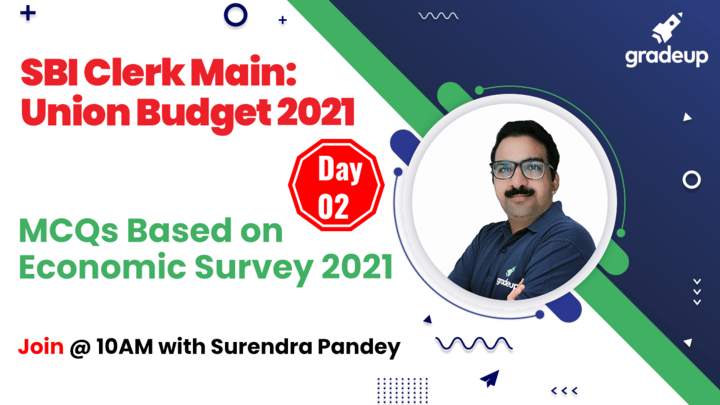 Live Class: MCQs Based on Economic Survey 2021