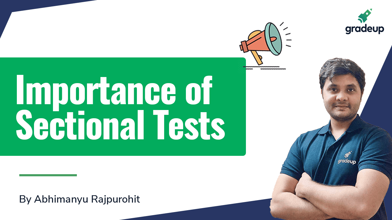 Importance of Sectional Tests