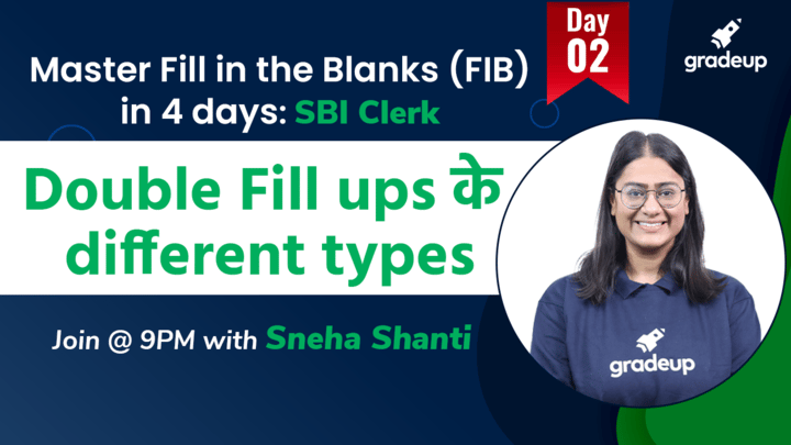Live Class: Double Fill ups के different types