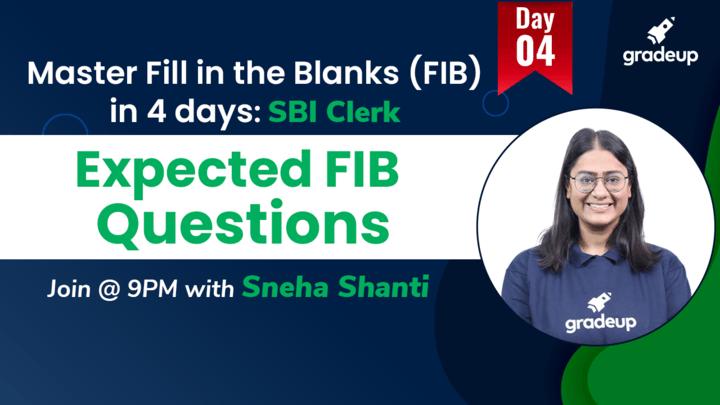 Live Class: Expected FIB Questions