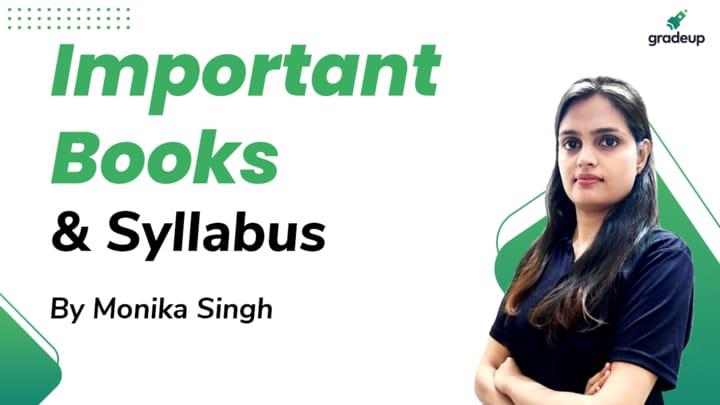 Live Class: Important Books & Syllabus