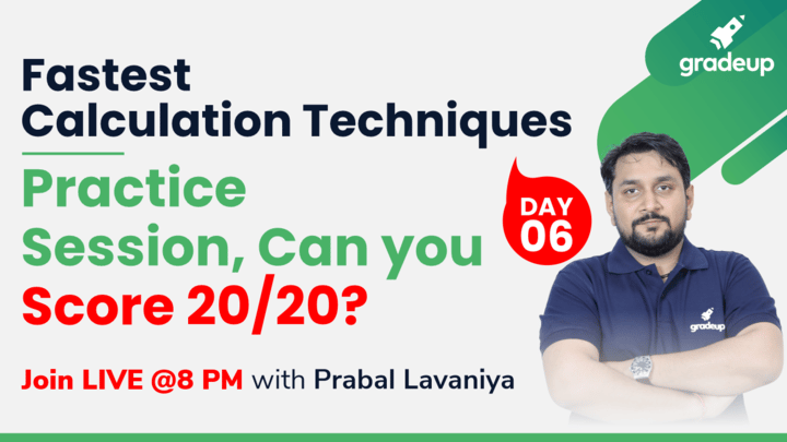 Live Class: Practice Session: Can you Score 20/20?