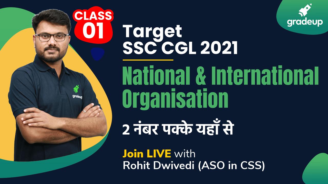 Class 1: National and International Organization
