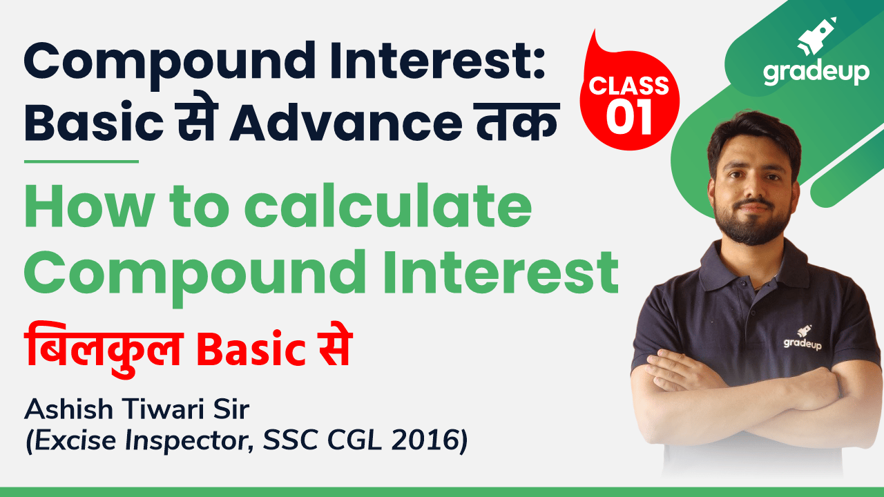 Class 1: How to calculate Compound Interest