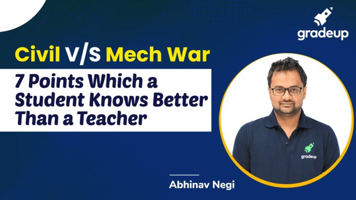 Where Student Knows Better Than Teacher!