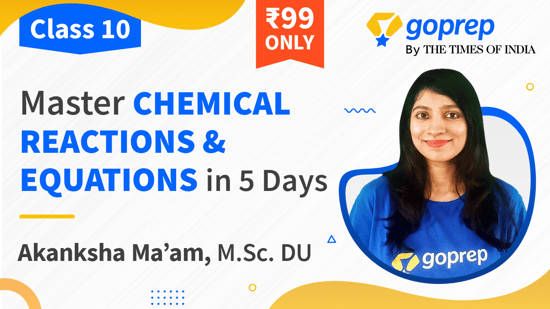 Master Chemical Reactions & Equations in 5 days