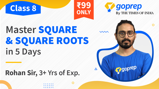 Master Square & Square Roots in 5 Days