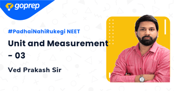 Unit and Measurement - 03
