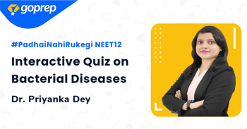 Interactive Quiz on Bacterial Diseases