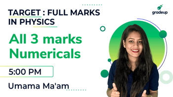 All 3 marks Numericals