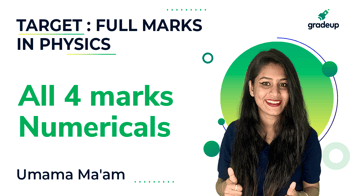 All 4 marks Numericals