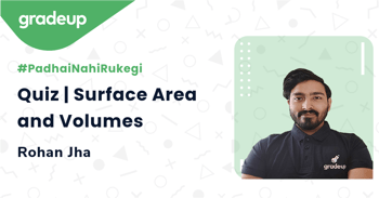 Quiz | Surface Area and Volumes