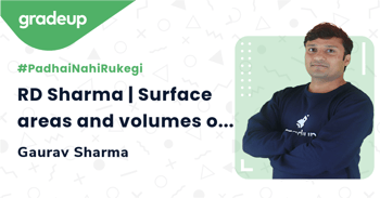 RD Sharma | Surface areas and volumes of Cube & Cuboid