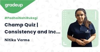 Champ Quiz | Consistency and Inconsistency of Solutions