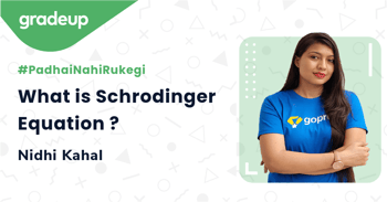 What is Schrodinger Equation ?