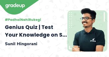 Genius Quiz | Test Your Knowledge on Separation Techniques