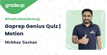 Goprep Genius Quiz | Motion