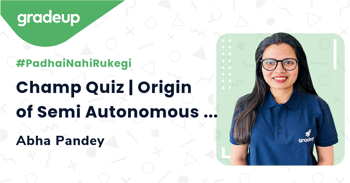 Champ Quiz | Origin of Semi Autonomous Organalle