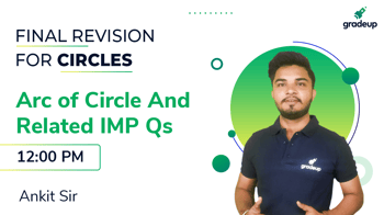 Arc of Circle And Related IMP Qs