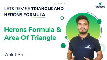 Herons Formula and Area of Triangle