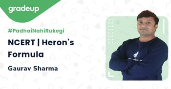 NCERT | Heron's Formula
