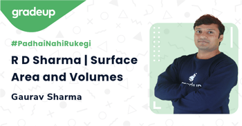 R D Sharma | Surface Area and Volumes