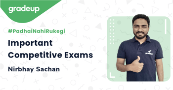Important Competitive Exams