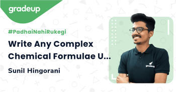 Write Any Complex Chemical Formulae Using Sunil Sir's Trick!
