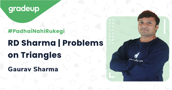 RD Sharma | Problems on Triangles