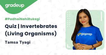 Quiz | Invertebrates (Living Organisms)