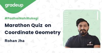 Marathon Quiz  on Coordinate Geometry